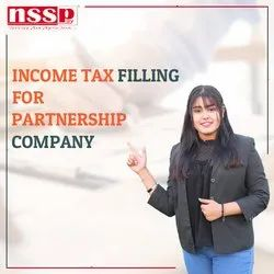 Income Tax Filling for Partnership Company