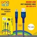 Blue Od Cdc 614 Micro Usb Charging Cable
