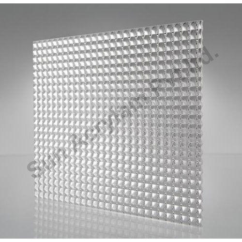 Light Diffusion Sheet Prismatic Diffuser Sheet