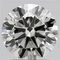 1.19ct Lab Grown Diamond CVD F VVS1 Round Brilliant Cut IGI Certified Stone