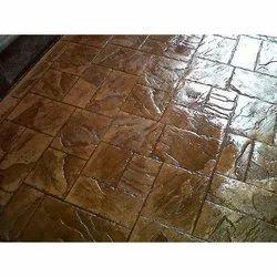 5000 Square Feet Stamped Concrete Flooring Service, in Pan India