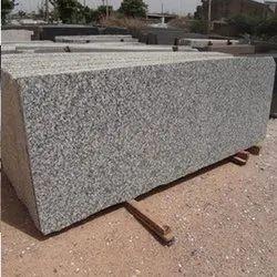 Polished P White Granite Slab, Thickness: 15-20 mm