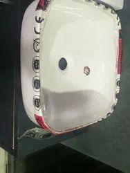 P Ceramic Tabletop Wash Basin, 16*16