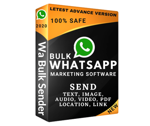 Online/Cloud-Based Whatsapp Marketing Software, Free Demo/Trial Available, For Windows