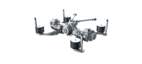 ZF Axle & Parts Thereof - ZF Single Drive Axle A 132 Service