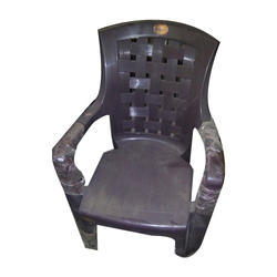 High Back Plastic Chair, For Indoor And Outdoor