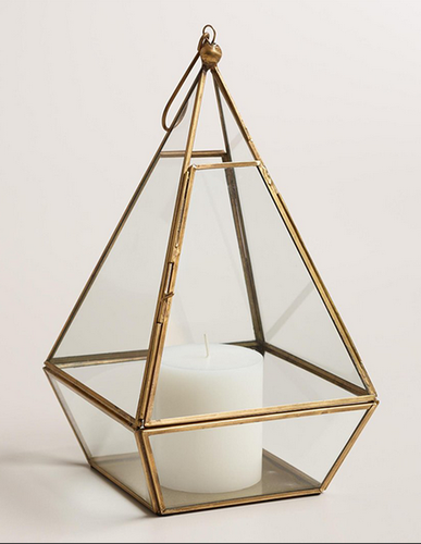 Avon Antique Brass Metal And Glass Terrarium At Rs 669 49 Piece
