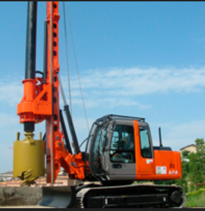Hydraulic Rotary Piling Rig For Rent in Lucknow, Lucknow