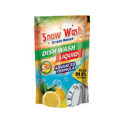 Dish Wash Label Pouch Printing Service