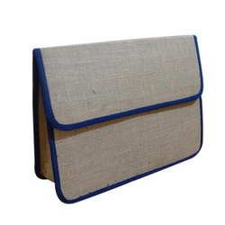 Jute Folder Office Bag