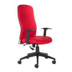Red Work Station Chair