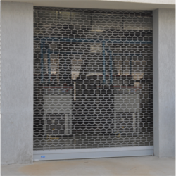 Sliding Perforated Rolling Shutters