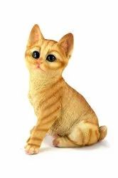 Polyresin Star Gardens Realistic Cat Home,Garden,Show And Gift Item