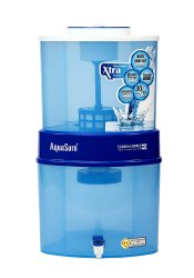 Eureka Forbes Aquasure from Aquaguard Xtra Tuff Sr 21 litres Gravity Water Purifier (Blue)