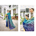 Printed Bandhani Silk Saree