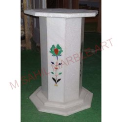 Marble Inlay Stand