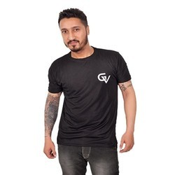 Mens Polyester Gym T Shirts