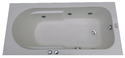 Melody Jacuzzi Bathtub - 5' x 2.5' - White