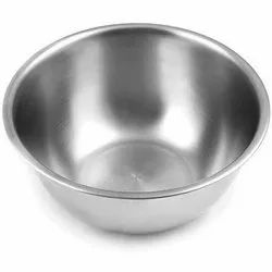 Silver Round Stainless Steel Serving Bowls, For Home, Capacity: 100 Ml