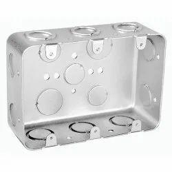 PVC Rectangle Three Gang Multi Device Switch Box