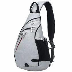 WESTWOODS Black and White Shoulder Backpack