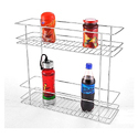 Two Shelf Pullout Basket