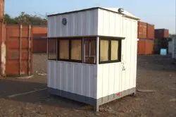 Mild Steel Toll Cabin