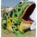 Big Frog without Slide Statue