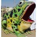 Big Frog without Slide Statue