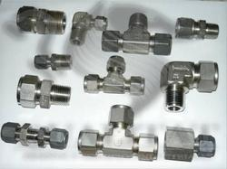 Titanium Compression Fittings, Size: 1/2 inch