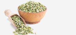 Surendraray & Co Oval, Green Or Yellowish Brown Fennel Seed, Pack Size: 25, 50 Kg