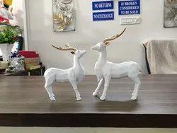 Decorative Deer Set Showpiece
