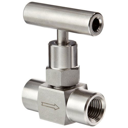 6000 Psi Stainless Steel SS Needle Valve, Size: 1/4 To 1 Inch