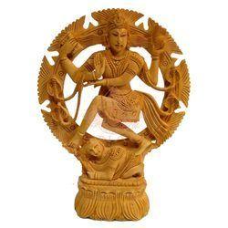 Wooden Natraj Statue