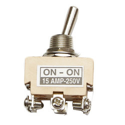 15 Amp DPDT Toggle Switch