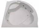 Sensual Jacuzzi Bathtub - 4.75' Corner - White