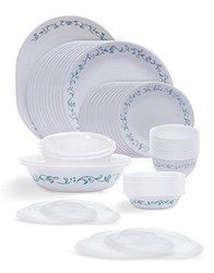 White Corelle Livingware Country Cottage Dinner Set, 30