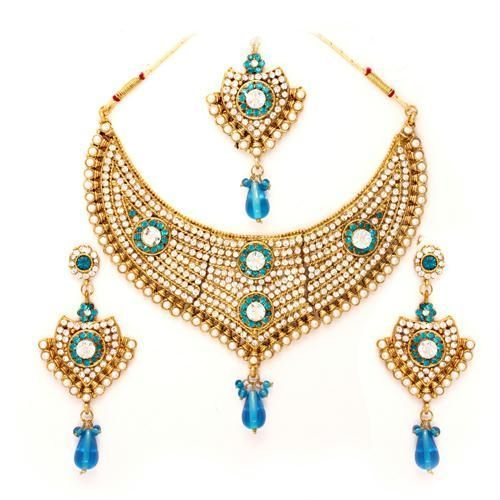 Wedding Jewellery Set at Rs 400 set Jevar Set Jewelry Set