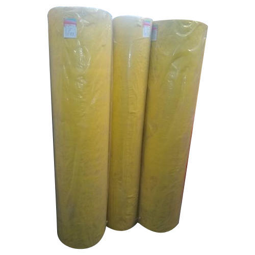 Yellow Non Woven Fabric Roll