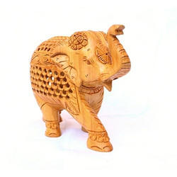 Wooden Handicraft Elephant Statue