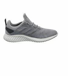 adidas nero e uomini grigi corrono razen scarpe taglia: 9 e 12, rs