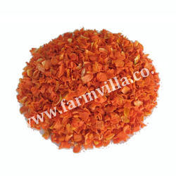 Dehydrated Carrot Flakes, Packaging: 25 kg bag