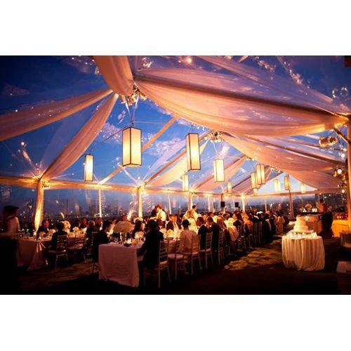 PVC Plain Fancy Wedding Tent Capacity Greater than 10  sc 1 st  IndiaMART & PVC Plain Fancy Wedding Tent Capacity: Greater Than 10 | ID ...