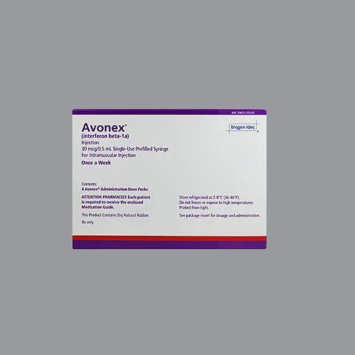 Avonex 05ml 4s Packaging Type Box Nostrum Impex Div Of Mpc
