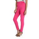 Pink Color Plain Leggings