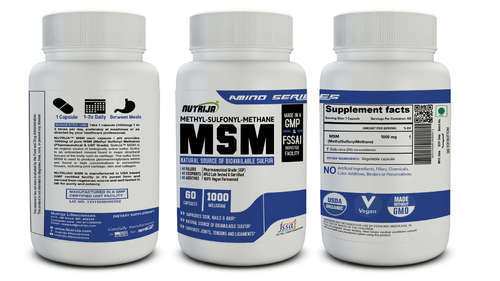 NUTRIJA - MSM (Methyl Sulfonyl Methane) 1000MG