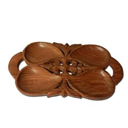 Wooden Tray, Size: 10inch