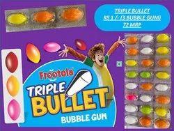 Frootola Oval Tripple Bullet Bubble Gum