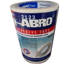 White Crepe Paper ABRO GP Masking Tape, 10-20 m, 24 mm