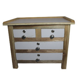 Liberty Square Wooden Jewellery Table